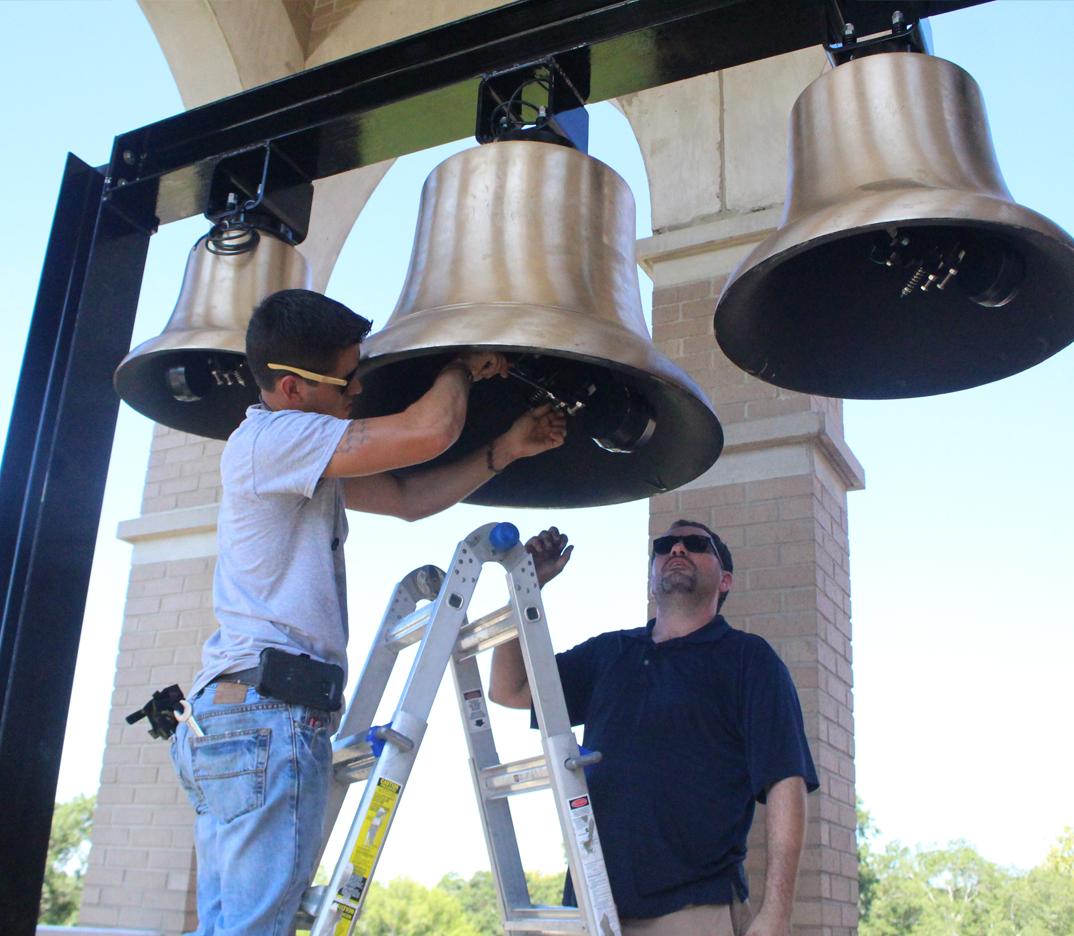 New bells a first for First United Methodist Church | Minden Press